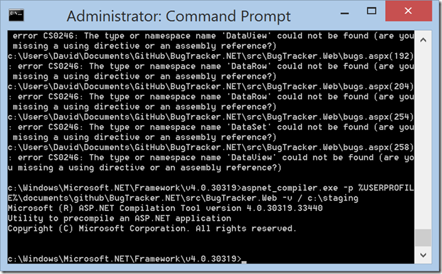 Increasing font size in Windows Command prompt on High DPI Displays