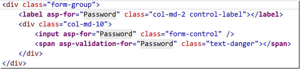 Cleaner Forms using Tag Helpers in ASP NET Core MVC | Dave
